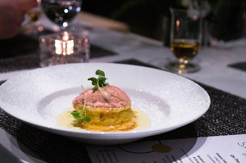 Foie Stuffed Brioche paired with Peller Estates 2014 Vintage Vidal