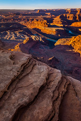 Follow Me (EricGail_AdventureInFineArtPhotography) Tags: dead horse point sunrise canyon rock