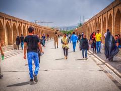 Si-o-seh pol (The bridge of thirty-three spans), Isfahan, Iran (CamelKW) Tags: 2017 iran isfahan kashan siosehpol thebridgeofthirtythreespans