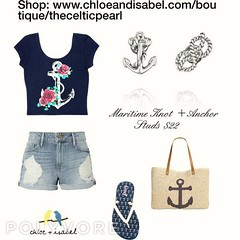 Today's Featured Product Look: Maritime Knot + Anchor Studs $22 Shop: https://www.chloeandisabel.com/boutique/thecelticpearl/products/E167S/maritime-knot-anchor-studs   Add nautical charm to your summer style with this maritime mismatch in antique silver (thecelticpearl) Tags: accessories picoftheday mismatch knot shop trendy summer2017 chloeandisabel style thecelticpearl fashion marine earrings tie daily buy love jewelry anchor boutique shopping rope photooftheday summer
