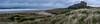 Farns to Bamburgh Panorama (Brian H Whittle) Tags: bamburghcastle farnislands panorama beach seascape