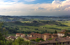 IMG_4291 (m_provvedi) Tags: nature italy sangimignano tuscany landscape outside canon sun clouds spring may green