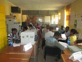 Yabello District Office of Agriculture carrying out the gender capacity self-assessment, June 2015