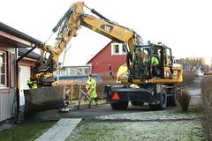 Cat M315D with engcon Tiltrotator (engcon) Tags: caterpillar tiltrotator m315d rototilt steelwrist excavator grävare grävmaskin digger rubberduck bucket bagger backfill housework