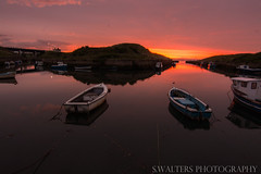 Sun Set over Seaton Sluice Harbour (sidrog28) Tags: sun sunny harbour seaton sluice boat sea sky nikon photography photo newcastle north east