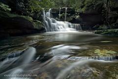 what a fine falls (donnnnnny) Tags: waterfall australia bush rock water wilderness adventure