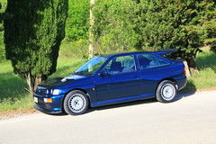 IMG_6648 (claudio.santucci) Tags: ford escort rs cosworth martini monte edition petrol blue cosworthclubrs