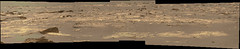 Decoded Sand and Rocks in Gale Crater (sjrankin) Tags: 23may2017 edited nasa mars bayerdecoded colorized msl curiosity sand rocks galecrater