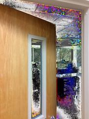 Room 106 (byzantiumbooks) Tags: werehere hereios door doorway splatter biohazard hallofmysteries danger ds106