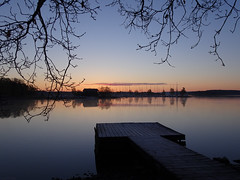 Beauty Prevail ! (Frosty Pier in May) (crush777roxx) Tags: crush777roxx crush 20170511 2017 may 11th spring frosty pier boathouse predawn beauty prevails dock jetty misty morning tree branches hanging sweden stockholm sverige djurgården sooc compact camera sony hx90v frostypier mistymorning beautyprevails straightoutofcamera stockholmsweden compactcamera sonyhx90v
