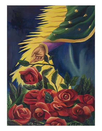 Autor: ADRIANA LETICIA ESTRELLA GONZALEZ, Luz de tus manos 32x49 cm