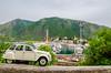 White Car 2 (haddadzakaria) Tags: algeria cloudy day jijel landscape spring water green car sea ziama