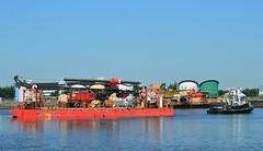 Haven Supporter + Haven Seariser 2 (2) @ KGV Dock 26-05-17 (AJBC_1) Tags: royaldocks london havensupporter dlrblog ©ajc newham northwoolwich londonsroyaldocks londonboroughofnewham eastlondon docklands england unitedkingdom uk ship boat vessel marineengineering nikond3200 tug tugboat collinswateragelighterage gallionspoint pontoon stantug1205 damen damenshipyardsgroup kgvdock kinggeorgevdock red7marine havenseariser2 ajbc1 barge delmagdrillingrig abiequipmentlimited delmagrh34