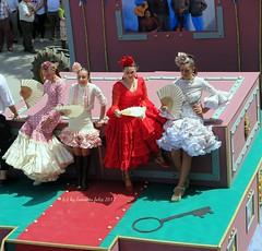 Día de San Isidro-Romería en Alameda (Málaga) (lameato feliz) Tags: alameda fiesta romería carroza
