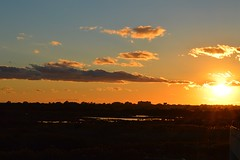 Paysage : Sunset at Barcelona Airport (Nabil Molinari Photography) Tags: paysage sunset barcelona airport
