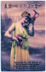 Message for the New Year (pepandtim) Tags: postcard old early nostalgia nostalgic message new year british manufacture east finchley 31121920 1920 55mes54 brice leighton road kentish town blanche season louie rex elvie allen born wilcox arizona american film tv actor singer songwriter cowboy narrator disney nature western productions star hollywood walk fame 1975 boulevard died tucson 1999 caregiver accidentally drove over driveway cactus