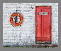 Doors 03 (Alistair_Images) Tags: doors grunge abstract dunure harbour lifering canon 60d