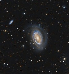 NGC 4725 (Paddy Gilliland @ Image The Universe) Tags: ngc4725 galaxy galaxies ic space nebula nebulae stars night astro astronomy astrophoto astrophotography ap narrowband hubble cosmos texture abstract outdoor wide widefield nighttime sky dark colours ngc science astrometrydotnet:id=nova2096892 astrometrydotnet:status=solved