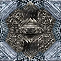 Structured Multiplier (Ross Hilbert) Tags: fractalsciencekit fractalgenerator fractalsoftware fractalapplication fractalart algorithmicart generativeart computerart mathart digitalart abstractart fractal chaos art mandelbrotset juliaset mandelbrot julia orbittrap metal sculpture steel