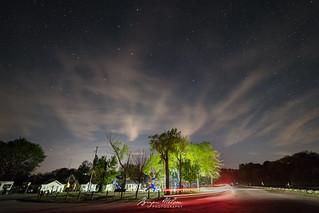 Stars over Port Bruce