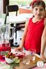 Little Foodies: Strawberry & Basil Slushy (twofoodies) Tags: albahaca basil batido fresa slushy strawberries