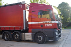 MAN TGX XLX E6 26.480 BLS - Sealane European Freight Logistics LTD Hertfordshire, England (Celik Pictures) Tags: man tgx xlx e6 26480 bls sealane european freight logistics ltd hertfordshire england gn64sfv