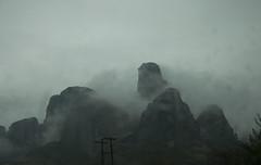 Mists of Meteora (Vjekoslav1) Tags: meteora kalambaka rain kiša greece grčka europe europa μετέωρα thessaly tesalija