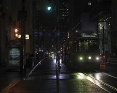 Boarding (aerojad) Tags: eos canon 80d dslr 2017 toronto vacation travel wanderlust night nightphotography city urban canada streetscape streetlight streetlamp strideby people stranger strangersinmyfeed streetcar transit streetphotography