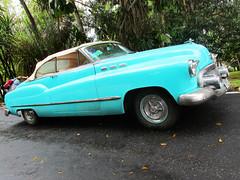 Blue Green Vintage Car in Cuba (shaire productions) Tags: car vehicle auto automobile automotive image picture photo photograph street road classic vintage wheels blue teal turquoise americana cuba cuban havana travel travelphotography traveladdict travelgram