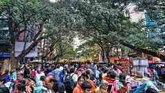 View of Bull temple Rd, Basavangudi, Bangalore during the Groundnut annual fair (lokesh.venkatashiah) Tags: basavangudi bulltempleroad bengaluru bangalore events