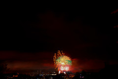 Any Colour You Like (alexwinger) Tags: nikon fireworks d5200 night red colour colours may spring evening cloudy