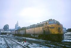 MILW E9 35A (Chuck Zeiler) Tags: milw milwaukee road e9 35a railroad emd locomotive train chuck zeiler chz
