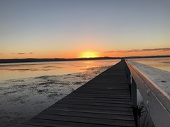 Long Jetty Sunset (Ian Rimmer) Tags: iphone7 sunset centralcoast nsw longjetty