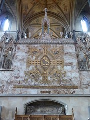 Reredos, Worcester Cathedral (carolyngifford) Tags: worcestercathedral vaulting paintedceiling reredos georgegilbertscott