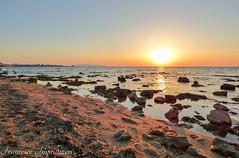 The Silence of the Rocks (Francesco Impellizzeri) Tags: trapani sicilia sunset rocks