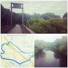 Einmal das kleine Gespenst laufen 👻. Per Fahrrad oder mit Laufschuhen wird nach und nach die Umgebung erkundet. Wo bin ich hier eigentlich? 8,35km 39:19min 4:42min/km.