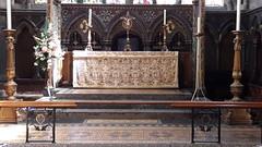 St Mary's Church altar, Shrewsbury (Pjposullivan1) Tags: shrewsbury altar stmaryschurch anglican redundentchurch reredos