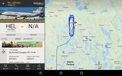 Whose airplanes Omega Air DC-10 is refueling in Kiuruvesi? (jvanne) Tags: finland kiuruvesi omegaair mcdonnelldouglasdc1040