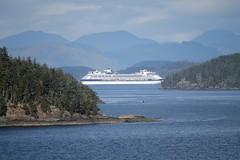 British Columbia ~ Celebrity Infinity (karma (Karen)) Tags: canada britishcolumbia mountains cruising celebrityinfinity ships topf25 cmwd