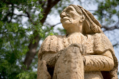 winterwarrior mankato minnesota dakota38 dakota382 reconciliationpark tommiller sculpture kasotalimestone