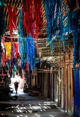 Souk (Jean-Luc Peluchon) Tags: maroc morocco lumix fz1000 panasonic color light contrejour contrast market artisanat ombre shadow lumière man homme composition