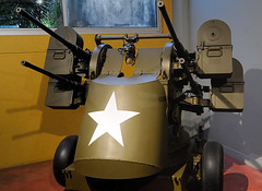 "M45 50 cal Quadmount (Maxson) M45 Quadmount, nicknamed the ""meat chopper"" and ""Krautmower""  Memorial Museum of the Battle of Normandy     Bayuex (BMrider2012 Over 1 Million Views! Thankyou :-) Tags: m45 quadmount maxson antiaircraft antipersonnel system meat chopper krautmower"