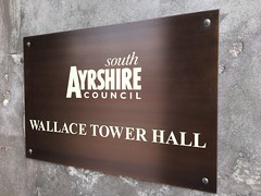 SAC Wallace Tower (Owen Kerr Signs) Tags: signs signage outdoorsignage lightbox officesignage retailsignage shopsignage realestatesignage propertysignage freestanding modular fascia pavement safety wayfinding glassetching manifestations windowgraphics canvasprints acrylicprints decals murals owenkerr owenkerrsigns ayr ayrshire glasgow edinburgh scotland uk engraved bronze
