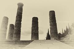 Temple of Apollo/ Ναός του Απόλλων στους Δελφούς (Paschales Photography) Tags: greece greek temple gods apollo delphoi greekarchitecture greektemple ancientgreece greekgods olympiangods