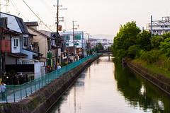 River of Kyoto - 京都の川 (lukethephotographer) Tags: kyoto 京都 京都の川 japan japanese 日本 にほん nihon travel adventure tourism walking canon 50mm 12l 7d luke standridge
