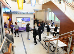 WCUSharkTank3182 (West Chester University) Tags: event indoor business businessandpublicmanagement cbpm audience banister chair classroom conferenceroom furniture handrail human people person