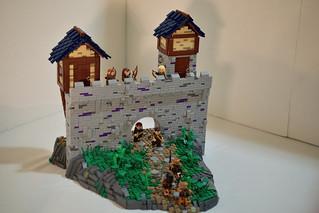 Elvish Mountain Castle