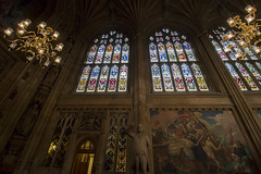NH0A7101s (michael.soukup) Tags: westminster palace london uk unitedkingdom england houseofcommons thames gothic architecture stainedglass hall royalgallery fresco statue