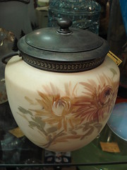 "BISCUIT JAR, LATE 1800'S. • <a style=""font-size:0.8em;"" href=""http://www.flickr.com/photos/51721355@N02/35349847235/"" target=""_blank"">View on Flickr</a>"