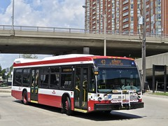 Toronto Transit Commission 8643 (YT | transport photography) Tags: ttc toronto transit commission nova bus lfs